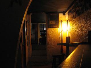 Una de las salas del bar