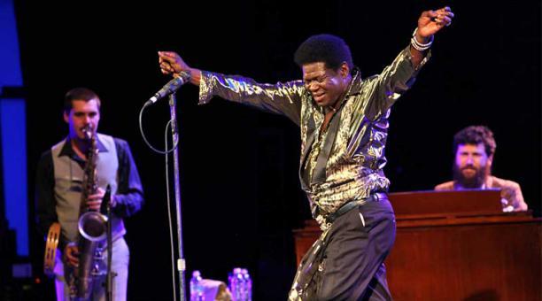 Charles Bradley demostró su talento durante todo el concierto